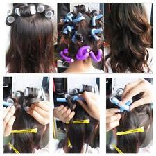10Pcs DIY Hair Curler Makers Foam Rollers Bendy Twistee Sponge Soft For Lady NEW