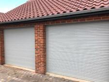 Light Grey, Electric Roller Garage Doors , Made To Measure, NO HIDDEN EXTRAS,