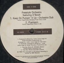Freestyle Orchestra Feat D'borah - Keep On Pumpin' It Up SBK One 12SBKX 7011