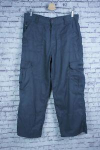"Craghoppers - Bear Grylls - Sz 34"" S - Men's Grey Cargo Trousers Hiking Everyday"