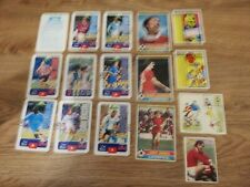 3 x Liverpool 1977 Topps Chewing Gum Cards Red Back.plus 12 Other Football Cards