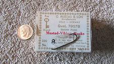 O. Mustad & Son Mustad- Viking Fishing Hooks - No. 8 - Qual. 79578  (N 1)