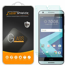 3X Supershieldz HTC Desire 555 Tempered Glass Screen Protector Saver