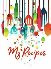 My Recipes, preprinted paperback recipe journal, great for young cooks, all ages