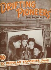 Drifting Pioneers Song Folio 1939 WLW Chicago Song Book
