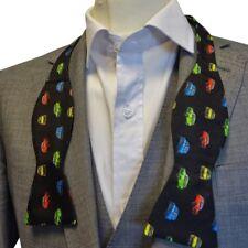 Hergest Classic Mini Design Self-Tie Silk Bow Tie