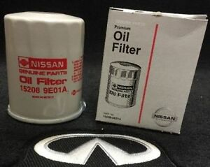 Genuine Infiniti Oil Filter 152089E01A