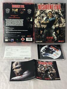 Resident Evil Capcom Big Box IBM PC DE PAL Top Zustand Ab 18