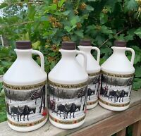 100% Pure Maple Syrup-NY-4 Half Gallons (256oz)