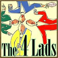 THE FOUR LADS Vintage Vocal Jazz CD Sixteen Toms , Sugartime , Singing The Blues