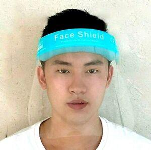 1x -1000x Gesichtsschutz Transparentes Gesichtsvisier Augenschutz Zertifiziert
