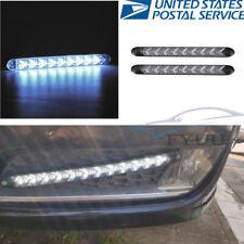 Pair 12V Flexible Vehicle 108LED Headlight Xenon White Fog Lamps Strip DRL Bulbs