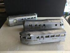 American Flyer 9900 Burlington Zephyr Railway Express Train, Engine & 2 Cars