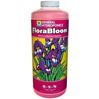 General Hydroponics FloraBloom 1 Quart qt 32oz - flora bloom flower nutrient gh