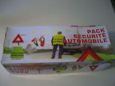 PACK SECURITE Triangle, gilet, cable démarrage, gants
