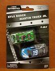 G190 2019 Authentics Busch  Truex Jr Toyota  s 1:87 Scale Nascar Diecast 2 Pack