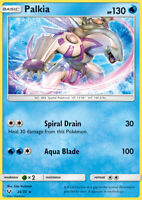 Palkia 24/73 SM Shining Legends Rare Holo Pokemon Card NEAR MINT TCG