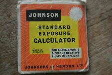 Johnson Standard  Exposure Calculator