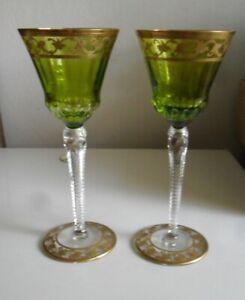 2 Kristallrömer, Cristallerie St.Louis, Modell Callot