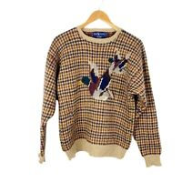 Vintage Polo Ralph Lauren Mallard Duck Sweater 100% Wool Mens Size M Medium