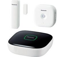 PANASONIC KX-HN6010EW Smart Home Safety Starter Kit Hub & Sensors White