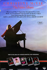 FLEETWOOD MAC CHRISTINE MCVIE 1984 VIDEO PROMO POSTER ORIGINAL