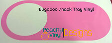 Bugaboo Snack Tray Vinyl Sticker Decal - Standard Colours