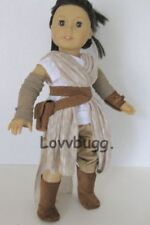 Especially Nice Star Wars Costume Rey Outfit for 18 inch American Girl Doll