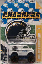 """Hot Wheels CUSTOM MONSTER DAIRY DELIVERY """"San Diego Chargers Football"""" 1/1 Made"""