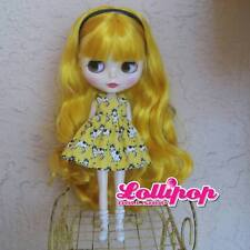 Factory Type Neo Blythe Yellow Gold Blonde Hair - with Outfit OR Stand