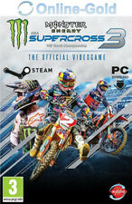 Monster Energy Supercross The Official Videogame 3 - PC Steam Game Spiel Code EU