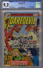 Daredevil #133 CGC 9.2 NM- Wp 1st Mind-Wave Marvel Comics 1976 Uri Geller App