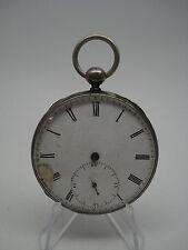 Edouard Favre Brandt Parachute Temperature Curb Regulator Keywind Pocket Watch