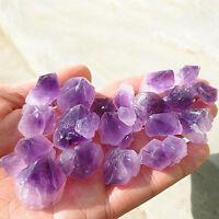 100g Natural Amethyst Skeletal Quartz Purple Crystal Cluster Healing Specimen