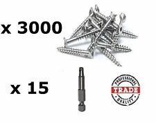 10gauge X 50mm Stainless Steel Decking Screws 1000pc Clever Tool Deck Hand