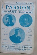 partition PASSION - Cora Madou, Emma Liébel, Marjal