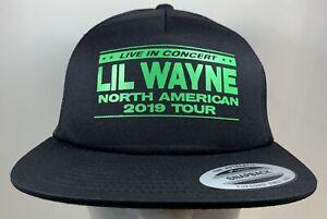 Lil Wayne Hat North American 2019 Tour VIP Merch Music Concert Cap Rap Hip Hop