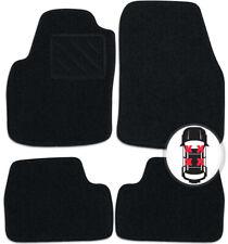 Fußmatten Set schwarz für BMW 1er F21 Fließheck 3 türig ab Bj. 09/12
