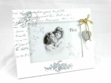 White Wooden Shabby Chic Photo Frame (picture size 13x18 ) Home Decoration