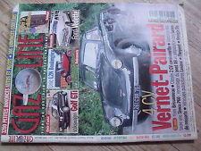 $$ Revue Gazoline N°85 4CV Vernet-Pairard  Volkswagen Golf GTi  Unic L2N