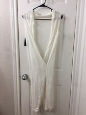 rick owens White Dress Sz S