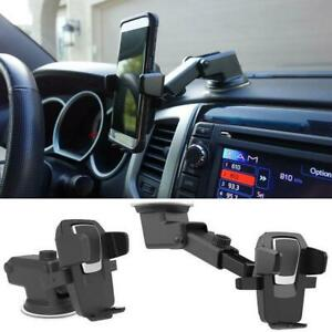 For Mobile Cell Phone GPS iPhone Samsung 360° Mount Holder Car Windshield  L0Z0