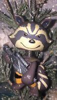 Custom ROCKET Raccoon Christmas Holiday Ornament MARVEL Guardians Of The Galaxy