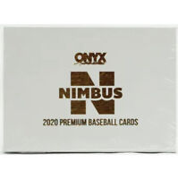 2020 Onyx Nimbus Collection Baseball Hobby Box Sealed 2 On Card Autos!