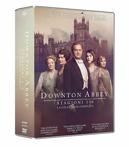 DOWNTON ABBEY COLLEZIONE COMPLETA (24 DVD) COF UNICO, ITA.