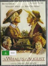 THE WHALES OF AUGUST - BETTE DAVIS - DVD  FREE LOCAL POST