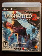 Uncharted 2: Among Thieves (Sony PlayStation 3, 2009) PS3 w Case & Manual Nice!