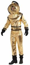 DEEP SEA DIVER nemo gold retro scuba dive adult mens costume halloween