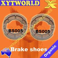 FRONT REAR Brake Shoes SUZUKI TS 185 1974 1975 1976 1977 1978 1979 1980 1981