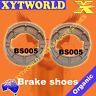 FRONT REAR Brake Shoes SUZUKI TS 185 1974 1975 1976 1977 1978 1979 1980 1981